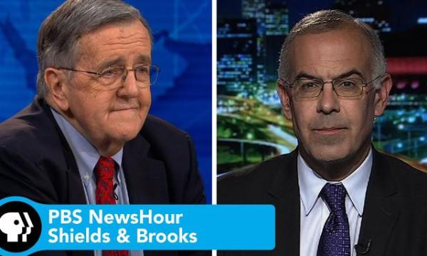 Shields & Brooks PBS Newshour