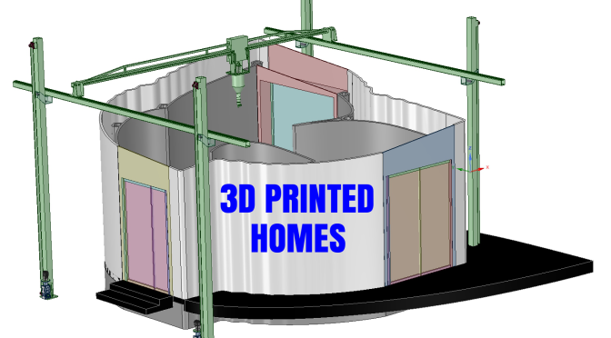 Boomers Home Design: 3D Printed Housing Will Reduce Costs And Construction Time, Improve Efficiency