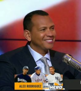 Alex Rodriguez on The Herd