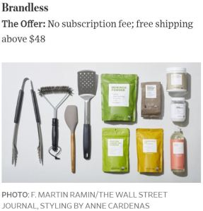 Brandless Online Shopping Photo WSJ by F. Martin Ramin