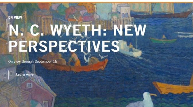"Top Exhibitions: ""N.C. Wyeth – New Perspectives"" At Brandywine River Museum, Chadds Ford, PA"