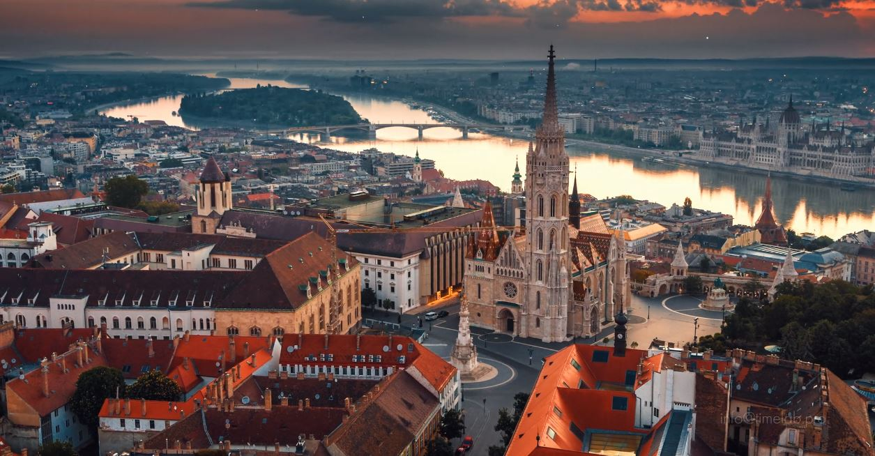 Budapest Aerial Travel Film Directed by Andrew Efimov 2019