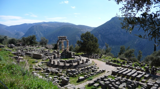European Travels: Retracing The Ancient Path To The Oracle At Delphi In Greece