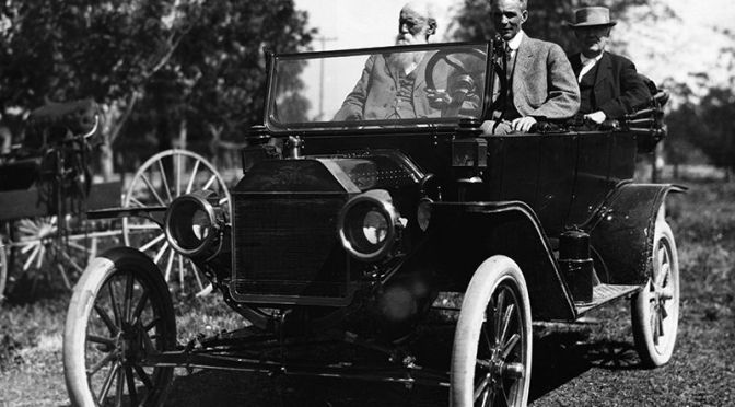 "Modern American ""Road Trips"" Began With Henry Ford And Thomas Edison ""Autocamping"" In 1920's"
