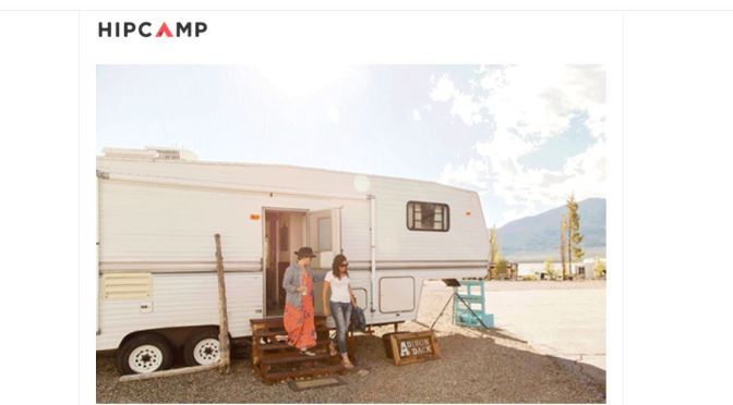 "Travel Technology: ""HipCamp"" Website Offers More Than 300,000 Campsites Nearest You"