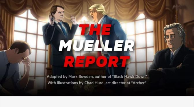 """The Mueller Report"": An Adaptation By Mark Bowden, Illustrated By Chad Hurd On Insider.com"