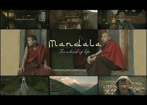 Mandala - The Wheel of Life Spiritual Journey Through Tibel 2019