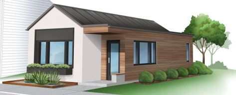 Module Homes 1 story starter unit 1 bed 1 bath