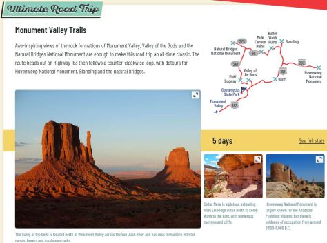 Monument Valley Trails Ultimate Road Trip #1 (2019)