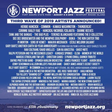 Newport Jazz Festival Lineup