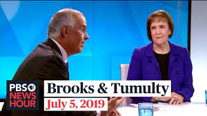 PBS Newshour Brooks and Tumulty