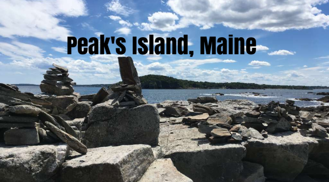 "Road Trip: Peak's Island, ME Is Kayaker's Paradise, ""Wild & Rocky Coastline"" Two Hours From Boston"