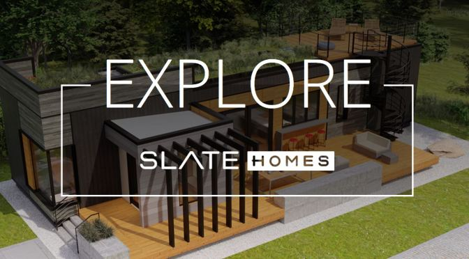 "The Future Of Homes: Upscale Prefab Builder ""Slate Homes"" Maximizes Smart Technologies"