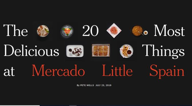 "Top Foodie Destinations: ""Unparalleled Quality"" At ""Mercado Little Spain"" In Hudson Yards, NYC"