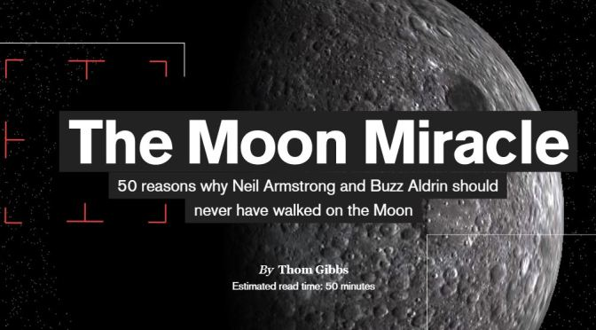 "50th Anniversary Of Apollo 11: ""The Moon Miracle"" By Thom Gibbs Is A Spectacular Chronology"