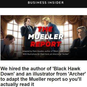 The Mueller Report Adaptation at Business Insider