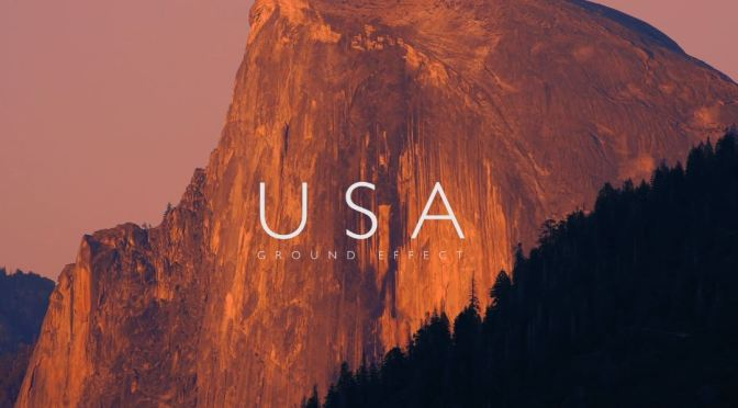 "Top New Travel Videos: ""USA – Ground Effect"" By Michael Fletcher Celebrates Yosemite, Western National Parks"