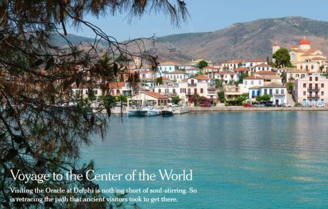 Voyage to the Center of the World NYT Travel