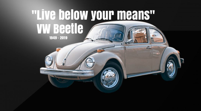 """Live Below Your Means"": VW Beetle Ceases Production 70 Years After Coming To America"