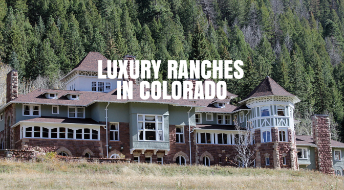 "Trends In Housing: Boomers' Downsizing Leaves ""Trail Of Luxury Ranches"" In Colorado"