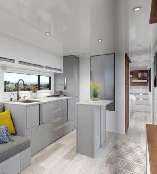 2020 Living Vehicle Interior