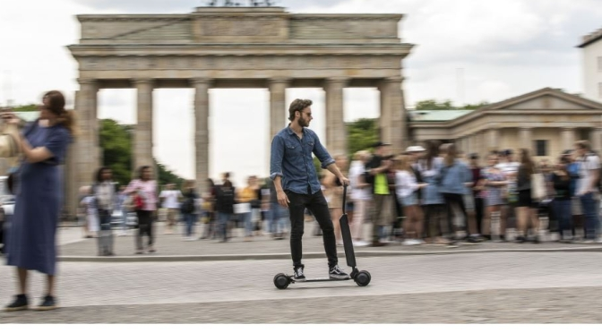 "Future Trends: Audi Introduces New E-Scooter Skateboard Concept For ""Light Mobility City Exploration"""