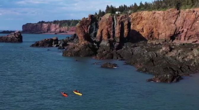 Top Road Trips: St. Martins, New Brunswick Is Home To The World's Highest Tides