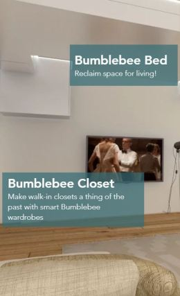 Bumblebee Spaces website home space savings