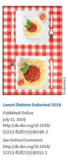 Calorie Restriction The Lancet Diabetes & Endocrinology Sept 2019