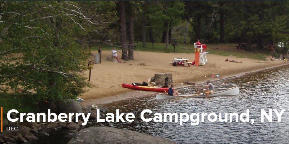 Cranberry Lake Campground, New York