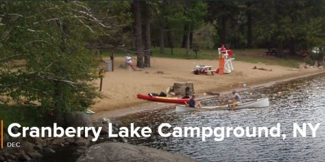 Cranberry Lake Campground, New York