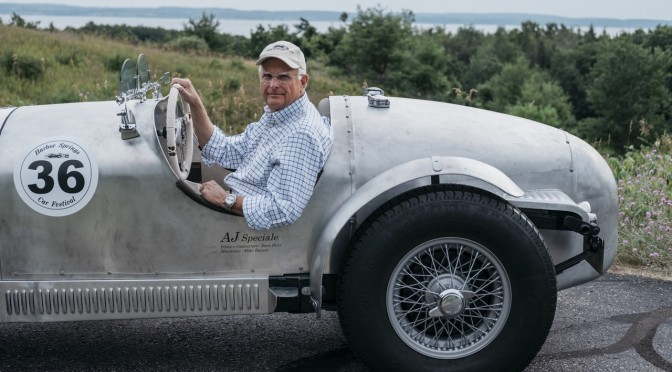 Boomers Hobbies: 75-Year Old Dave Hinz Of Michigan Spent Ten Years Building His 1936 A.J. Speciale