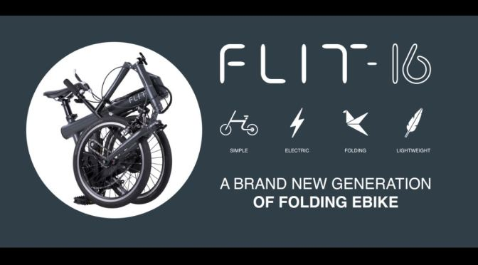 "Future Mobility: The FLIT – 16 Folding E-Bike's Great Design Is ""Engineered To Perfection"", Great Utility"