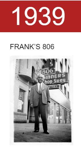 Frank Fat's 1939 - 2019