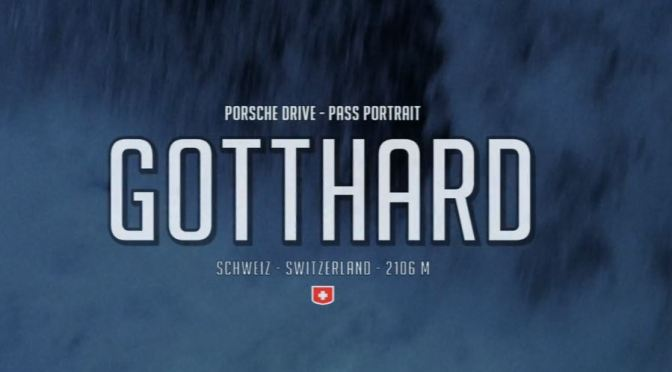 "Top Driving Roads Videos: ""Gotthard – The Mountain Is Calling"" Directed By Stefan Bogner (2019)"