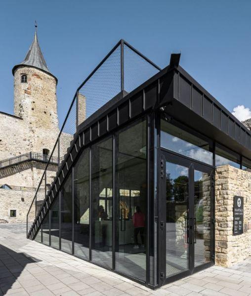 haapsalu episcopal castle design conversion by Kaos Architects entry