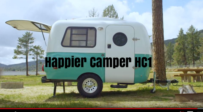 Future Of Travel Trailers: Happier Camper HC1 Is Pure Lightweight, Vintage  Modular Functionality