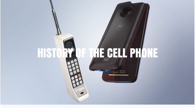 History Of The Cell Phone: Motorola Beat Bell Labs To Engineer The First Wireless Phone In 1973