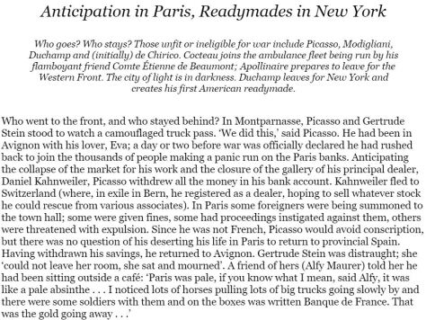 In Montparnasse Sue Roe Chapter 3 excerpt from Amazon website