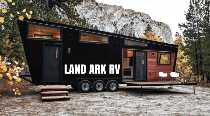 "Top Mobile Houses: Land Ark RV's ""Draper"" Is Optimally Functional, Sophisticated Travel"