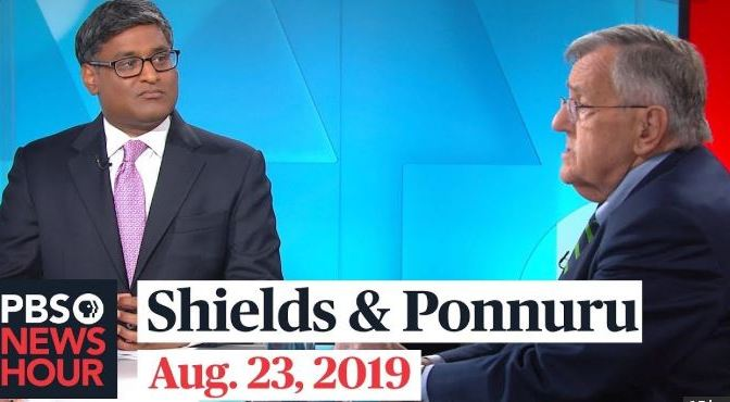Top Political Podcasts: Mark Shields & Ramesh Ponnuru Discuss Latest In Washington (PBS)