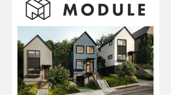 "Future Of Homebuilding: Module Design's Lastest Prefab ""Zero Energy Ready Home"" In Pittsburgh"