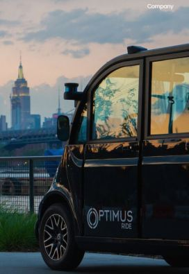 Optimus Ride - NYC's First Self-Driving Shuttle