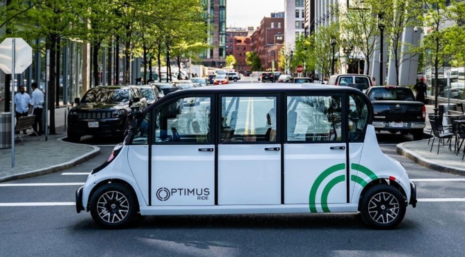 Future Transportation: Optimus Ride Debuted First Public Self-Driving Shuttle In New York City