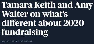 PBS Newshour Tamara Keith and Amy Walter Aug 26 2019