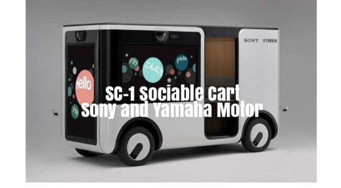"Future Of Mobility: Sony And Yamaha Motor Unveil ""Entertainment Vehicle"""