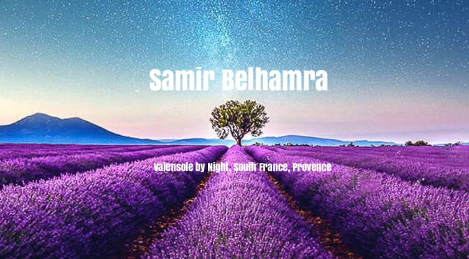 "Visual Artists: Samir Belhamra's ""Mesmerizing Meadows From Soaring Perspectives"" In Provence"
