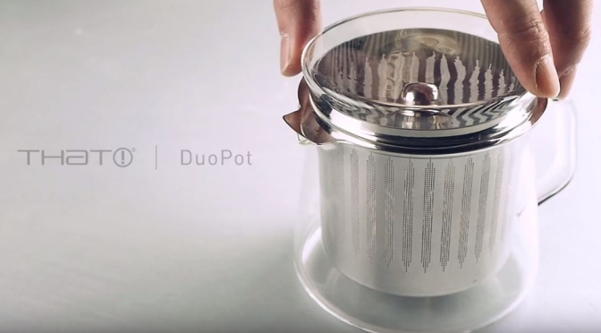 "Kitchenware Of The Future: ""DuoPot"" By That! Inventions Brews Both Coffee And Tea Stylishly"