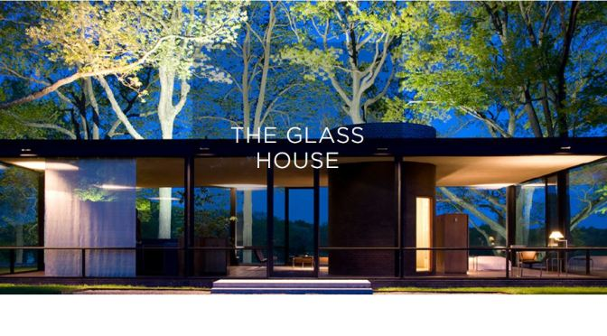 Architectural Day Trips: The Glass House Designed By Philip Johnson In New Canaan, CT (1949)