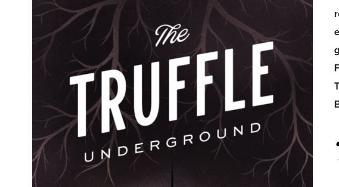 "Top New Books: ""The Truffle Underground"" By Ryan Jacobs Is Captivating"